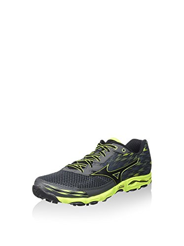 Mizuno Zapatillas de Running Wave Hayate 2 Carbón/Negro EU 40 (US 7.5)