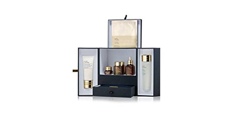 Estee Lauder Advanced Night Repair 8-PC Collection: Recovery Complex II + Eye + Ampoules + Mask Sheet + Night Cleansing Foam + Micro Essence Treatment Lotion + Jewelry Bag + Jewelry Box