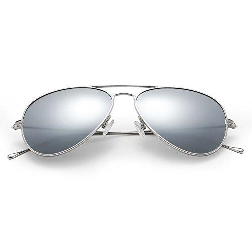 LUMCHO Classic Aviator Sunglasses Polarized