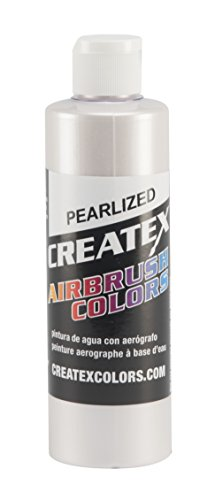 Createx Colors Paint for Airbrush, 8 oz, Pearl White
