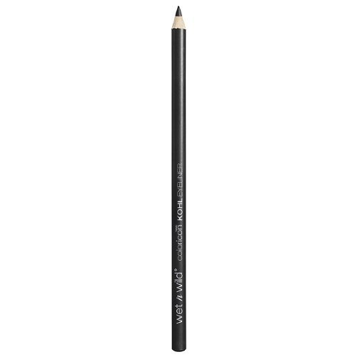 (Wet n Wild Color Icon Kohl Liner Pencil, Baby's Got Black 0.04 oz (Pack of 2))