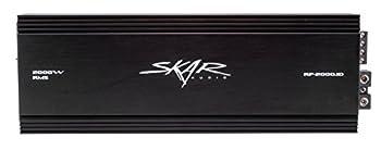 Skar Audio Rp-2000.1d Mono Block Class D Mosfet Subwoofer Amplifier, 2000w 0