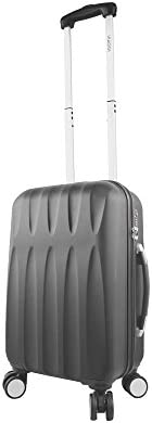 Viaggi Mia Italy Positano Hardside Spinner Carry-on, Black, One Size