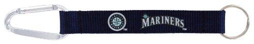 MLB Seattle Mariners Carabiner Lanyard Key Ring