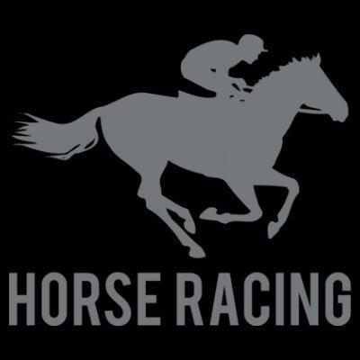 Sudadera con capucha de mujer Horse Racing by Shirtcity Negro