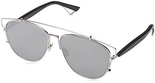 75ae6e43333f Amazon.com  Dior Sunglasses Dior Technologic Sunglasses 84J0T Silver    Black 57mm  Sports   Outdoors