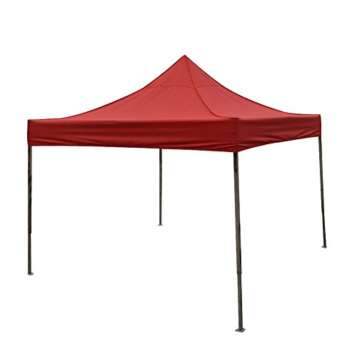 Price comparison product image instant shelter canopy (3m3m,stainless steel, red