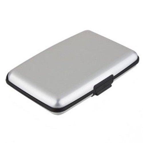 Pocket Waterproof Business ID Credit Card Wallet Holder Box Case - 5