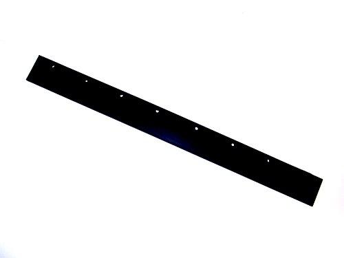 Ettore 54436 Steel Floor Squeegee Replacement Rubber, 36-Inch ()