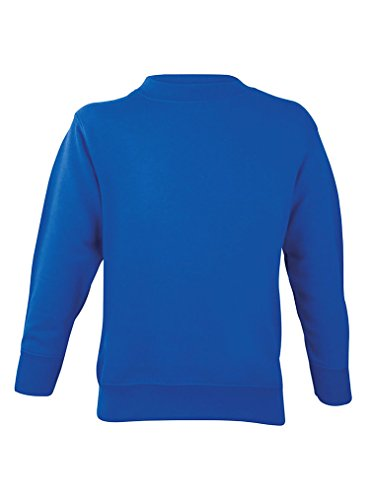 Royal Blue Long Sleeve Pullover - 5