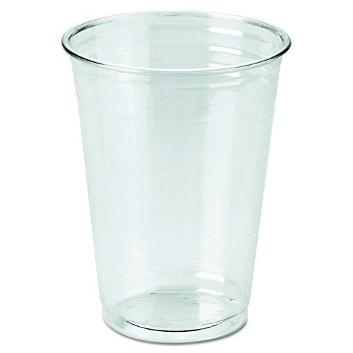 Dixie CP10DX WiseSize PETE Cup, 10 oz, Clear (Case 20 Packs, 25 cups per pack)