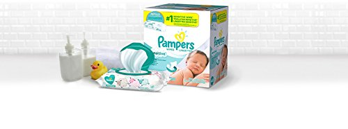 Pampers Sensitive Water Baby Wipes 9X Pop-Top Packs, 504 Count