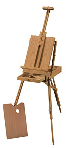 Heritage Arts HWE208 de Leon Classic French Wooden Easel by Heritage Arts