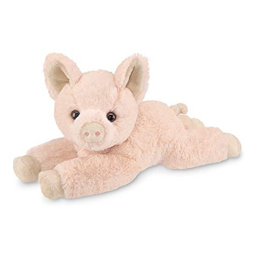 Bearington Pig E. Sue Plush Pig Stuffed Animal, 12 Inches