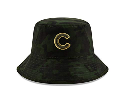 New Era Chicago Cubs 2019 MLB Armed Forces Day Bucket Hat - Camo