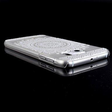 Casos hermosos, cubiertas, Patrón de girasol caja del teléfono material de la PC transparente para la galaxia s6 borde / s6 / s6 borde + ( Modelos Compatibles : Galaxy S6 ) Galaxy S6