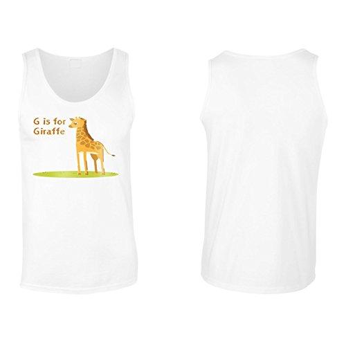 Neue G Für Giraffe Lustig Herren Tank top l382mt