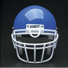 Schutt Sports Super Pro Carbon Steel Varsity ROPO-UB-DW Football Faceguard, Gray