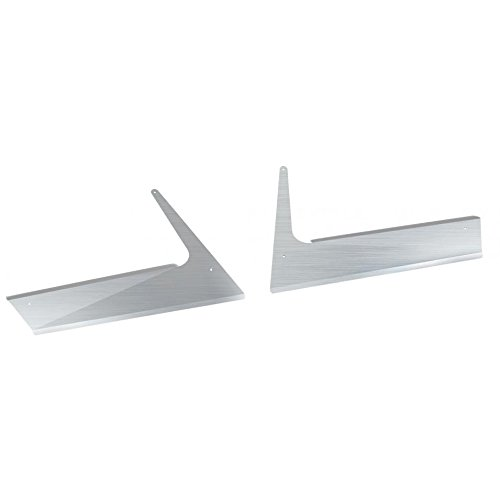 (United Pacific 29044 Stainless Kenworth T800 Aerocab Fender Guards)