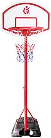 ユースバスケットボールフープ、屋外屋内の撮影フレーム、子供のバスケットボールフープ、5ナンバーのバスケットボールを投げることができ、大規模なベースはバックボード肥厚、2メートル、2.7メートル (Color : Red, Size : 2.7m)