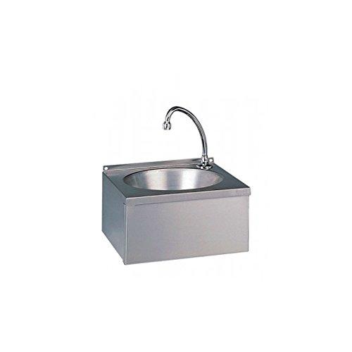 Lave-mains professionnel, commande par panneau basculant - Sans dosseret bdp