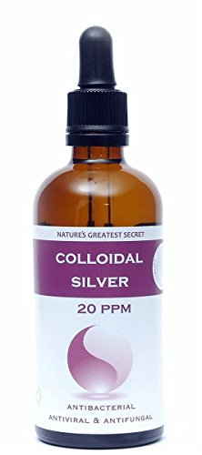 Natures Greatest Secret 20 ppm Colloidal Silver (Dropper) 100ml(Pack of 2)
