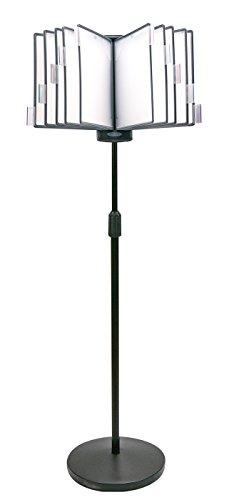 Aidata FDS032WL InfoStatd Floor Stand Information Organizer, Height adjustable pole from 43.3