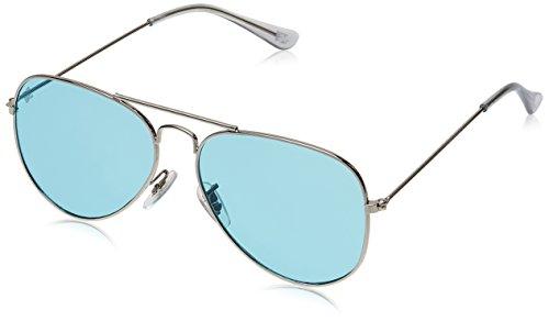 MTV Aviator Sunglass (Silver) (MTV-123|C21 58)