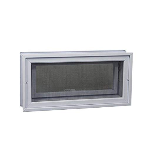 Crawl Space Vent (White) - for 16'W x 8'H Foundation Openings