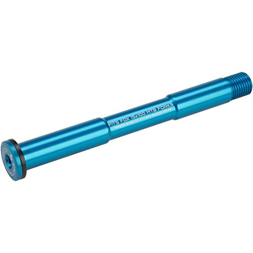 Wolf Tooth Components FOX 15mm x 100mm Thru Axle: Blue
