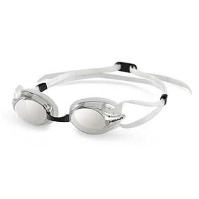 Head Venom Swimming Goggle - Mirrored - Clear/Clear by HEAD