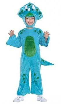 Toddler Costumes Dinosaur Kid Dino (Blue Lil Dino Dinosaur Childs Toddler Costume Size 2T -)