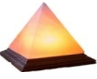 Pyramid Himalayan Salt Lamp - Amazing Plug In Powered Salt Lamps Cleanse the Air and Body Lamps Add Unique Decor to Your Home or Office - Great Long Lasting Replacements to Wick Candles
