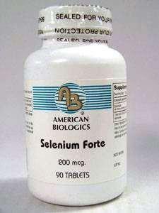 American Biologics - Selenium Forte 200 mcg 90 tabs