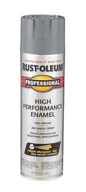 Rustoleum Professional 7587838 15 Oz Dark Machine Gray Gloss High Performance Enamel Spray - Performance High Professional Enamel