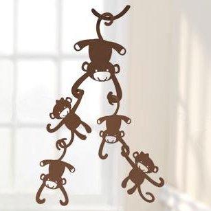 (Lambs & Ivy Ceiling Sculpture, Brown)