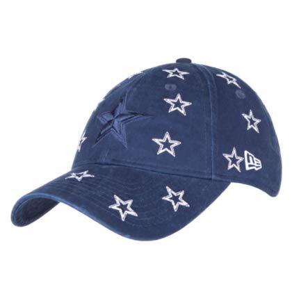 (Dallas Cowboys New Era Jr Girls Logo Scatter 9Twenty Cap )
