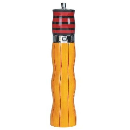Tulip Combo Mill Salt Shaker and Pepper Grinder, Yellow/Red (Tulip Combo)