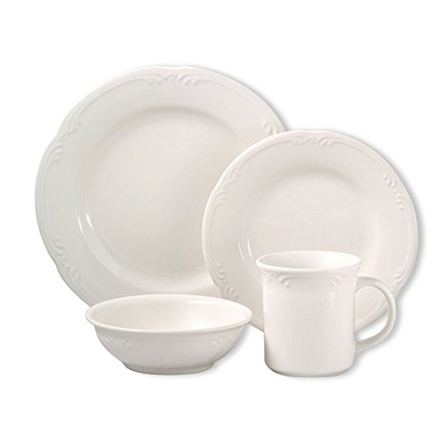 Pfaltzgraff Filigree 32 Piece Dinnerware Set, Service for 8