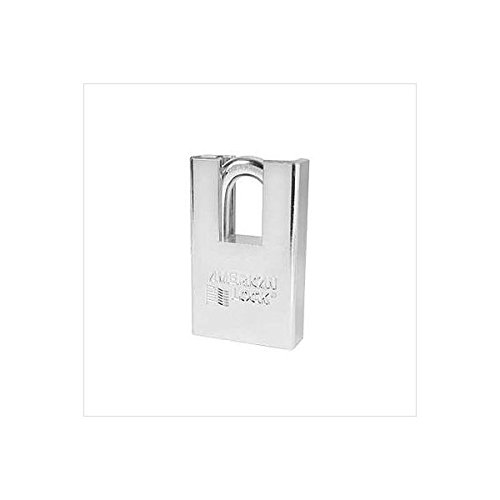 American Lock A5360 2'' (51mm) Shrouded Solid Steel Keyed Different Rekeyable Pin Tumbler Padlock