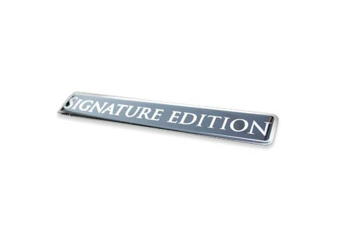 Signature Edition amazing show quality metal grille / fender badge emblem insignia decal ()