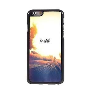 WQQ Be Still Design Aluminum Case for iPhone 6 Plus , Lemon
