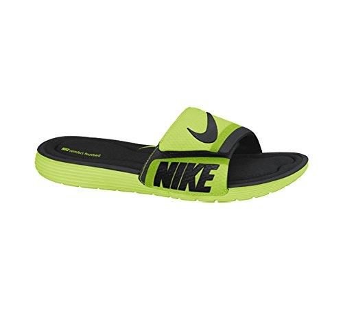 Solarsoft Sandal Comfort Slide Nike Men's black Volt UwCC5q