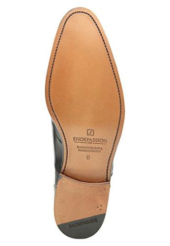 SHOEPASSION 792 Wingtip Loafer in Schwarz Bequemer Business- oder Freizeitschuh für Herren. Rahmengenäht und handgefertigt. Schwarz
