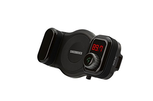 - Car and Driver FM Transmitter Bluetooth Vent Mount