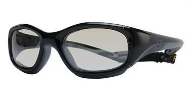 (Liberty Sport Slam XL - Shiny Gunmetal/Black / Clear with Silver Flash Mirror (373))