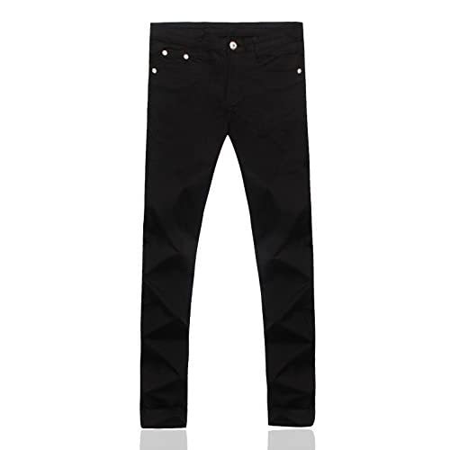 Cheap Demon hunter Men's Skinny Black Jeans S8L20x5 free shipping