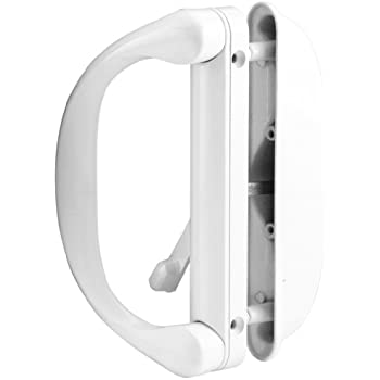 Sliding Patio Door Handle Set For Milgard White