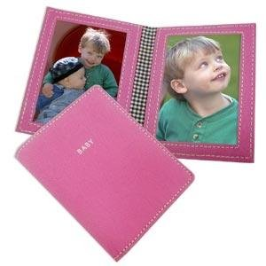 kate spade nyc® BABY Strawberry pink folding duo - 4x6 -  Kate Spade New York, EH031730/650
