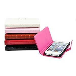 YULIN iPhone 4/4S/iPhone 4 compatible Solid Color Full Body Cases , Rose